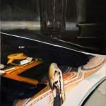 Black mirror oil on canvas 100x80 cm