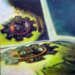Untitled (Arnolfini) oil on canvas 40x40 cm