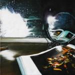 Untitled (Caravaggio) oil on canvas 40x40 cm