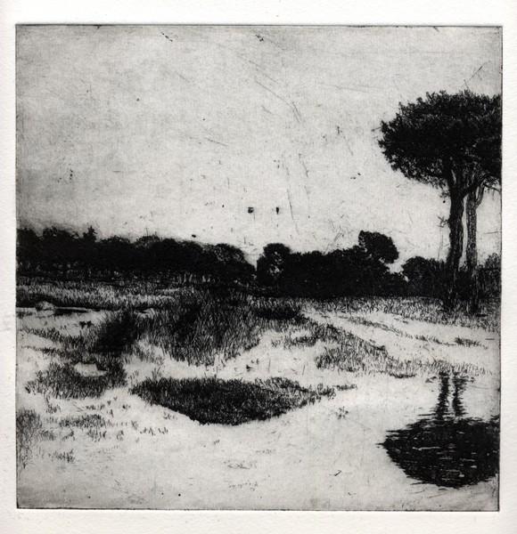 Polish Landscape3,35x35cm,etching '-3ad4c219d6